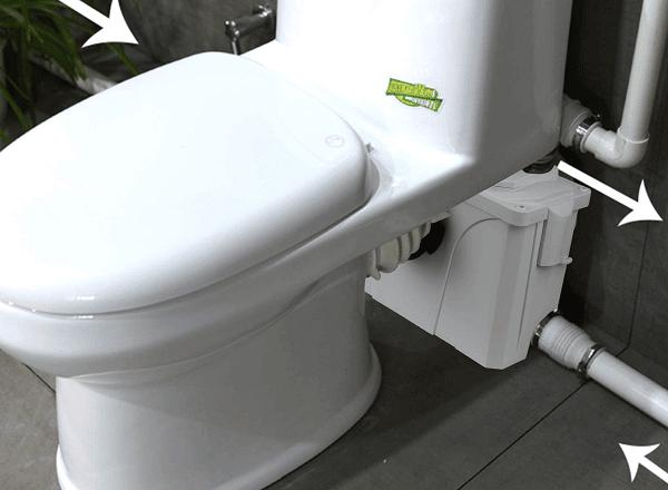WC Broyeur Pour l'évacuation Des Eaux Usées