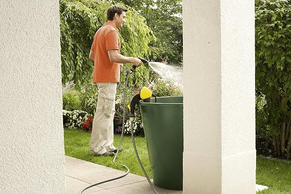 pompe pour récupérateur d'eau de pluie