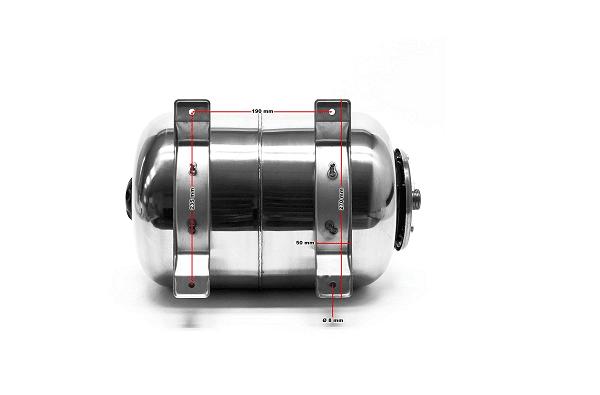 24Litres INOX Réservoir pression à vessie s